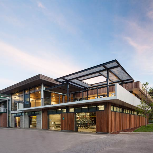Richmond Architects: Richmond Rowing Club