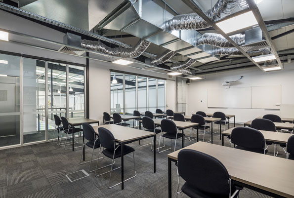 PICAC Geelong flexible training classroom