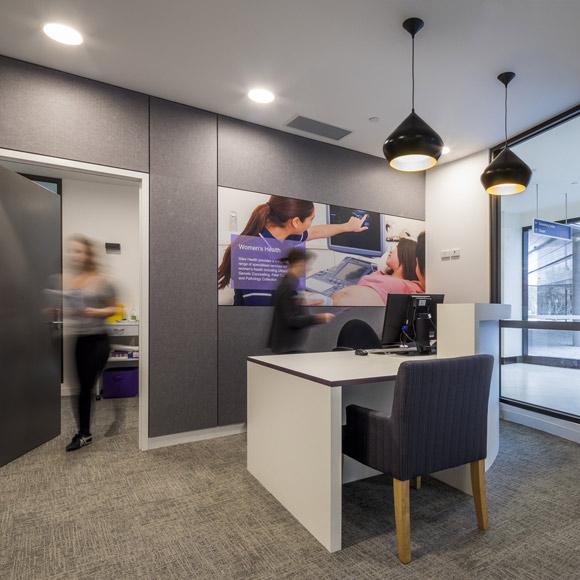 Siles Health clinic reception area