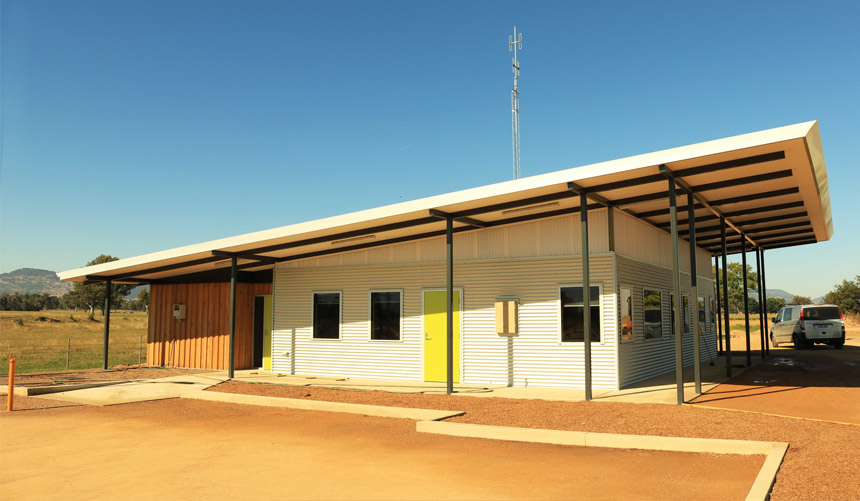 DELWP Corryong Airbase completed