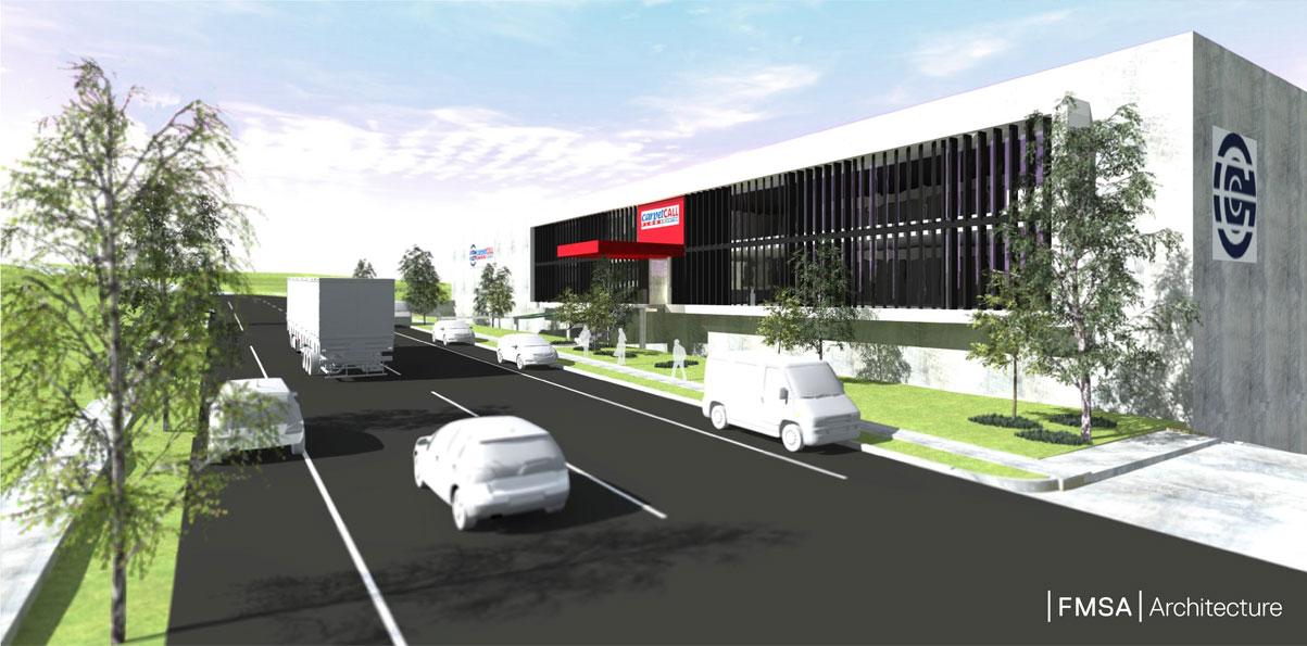 Carpet Call NSW Headquarters by FMSA Architecture